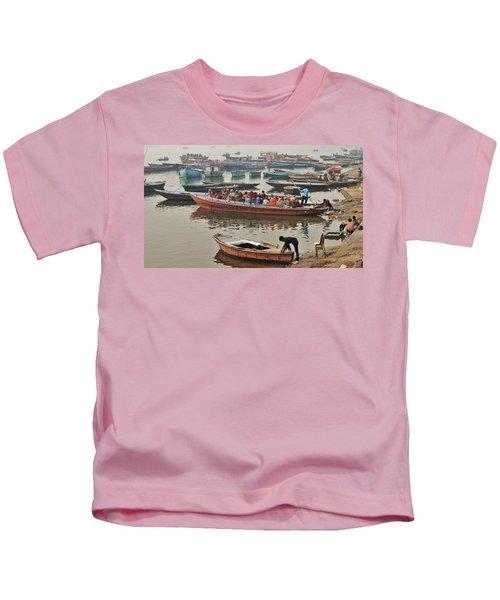 The Journey - Varanasi India Kids T-Shirt