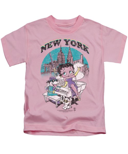 Boop - Singing In Ny Kids T-Shirt