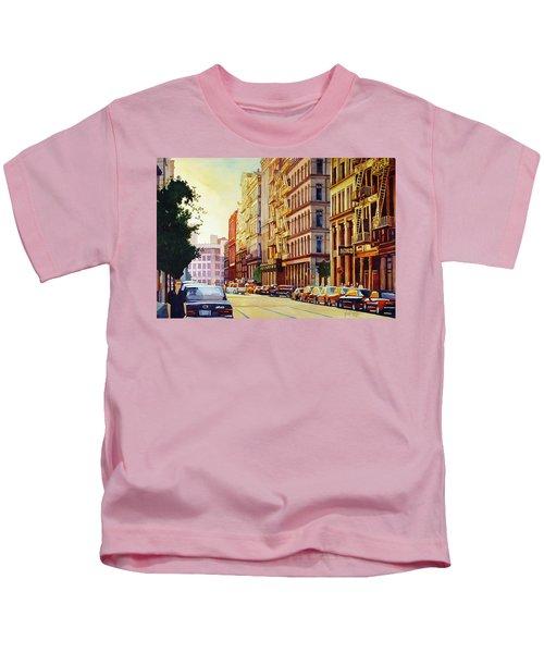 Brownstone Sunset Kids T-Shirt