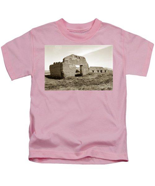 Soledad  California Mission  Monterey Co. Circa 1900 Kids T-Shirt