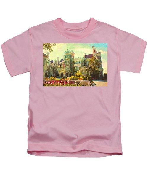 Casa Loma Castle In Toronto Kids T-Shirt