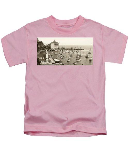Catalina Island. Avalon Kids T-Shirt