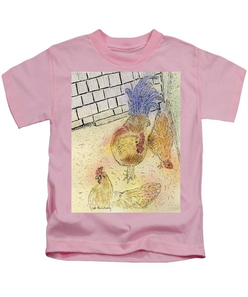 Chickens At Pei Kids T-Shirt