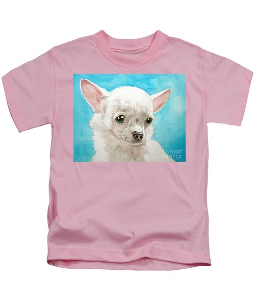 Chihuahua Dog White Kids T-Shirt