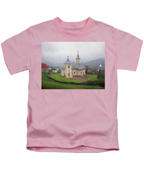 Church In The Mist Kids T-Shirt