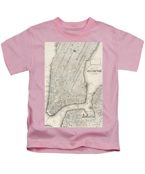 City Of New York Circ 1860 Kids T-Shirt