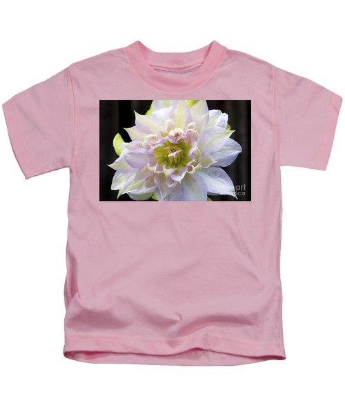 Clematis 'belle Of Woking' Kids T-Shirt
