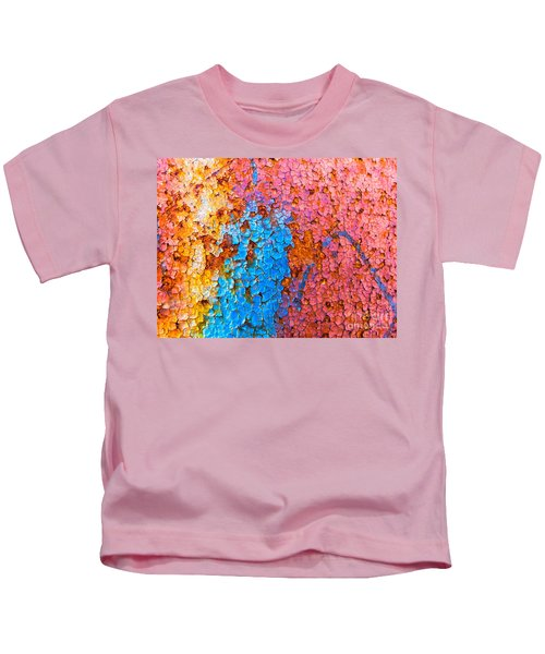 Colorful Cracks Kids T-Shirt