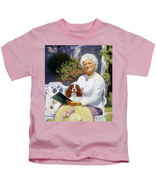Companions In The Garden Kids T-Shirt