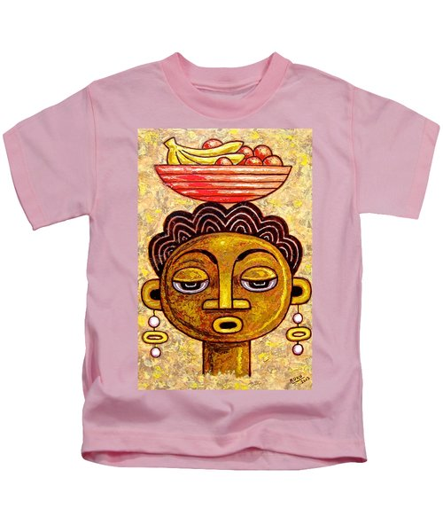 Congalese Face 1 Kids T-Shirt