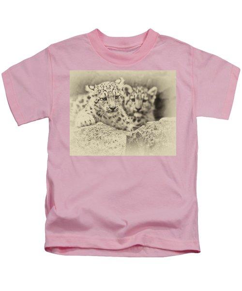 Cubs At Play Kids T-Shirt