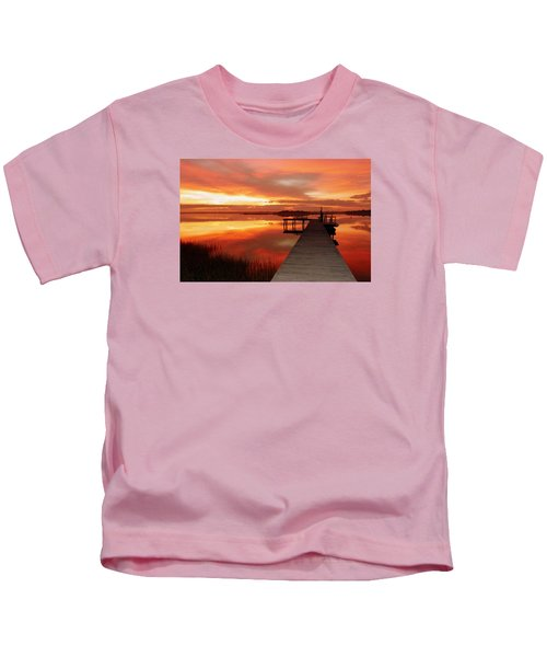 Dawn Of New Year Kids T-Shirt