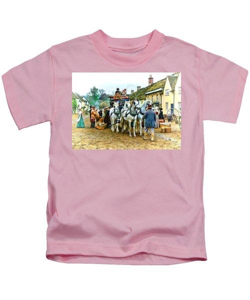 Departing Cranford Kids T-Shirt