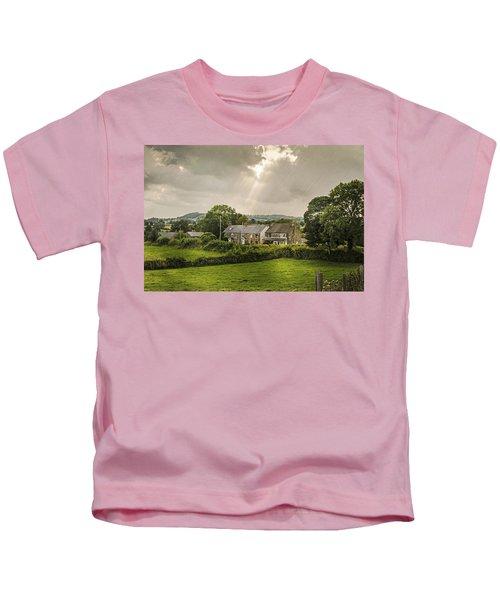 Derbyshire Cottages Kids T-Shirt