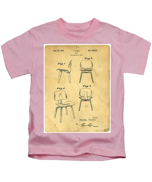 Designs For A Eames Chair Kids T-Shirt
