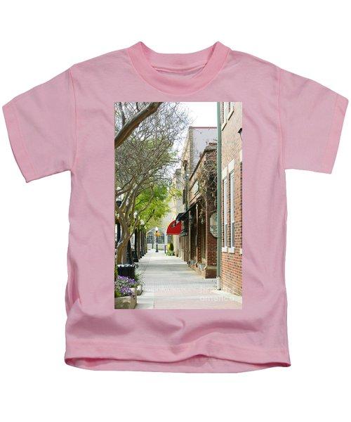 Downtown Aiken South Carolina Kids T-Shirt
