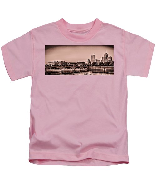 Downtown Indianapolis Kids T-Shirt