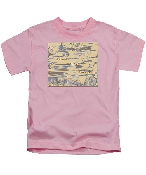 Driftwood Haiga Kids T-Shirt