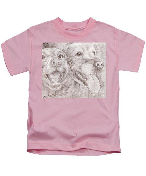 Eager Best Friends Kids T-Shirt