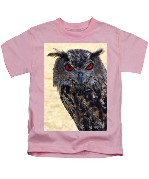 Eagle Owl Kids T-Shirt