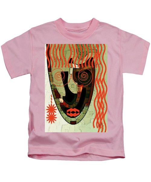 Earthy Woman Kids T-Shirt