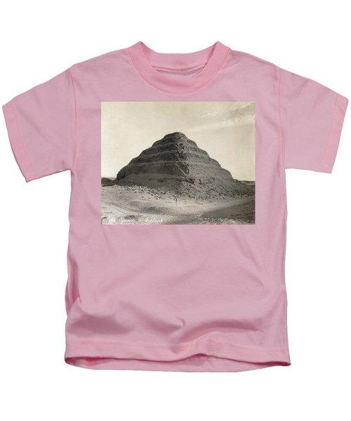 Egypt Step Pyramid Kids T-Shirt
