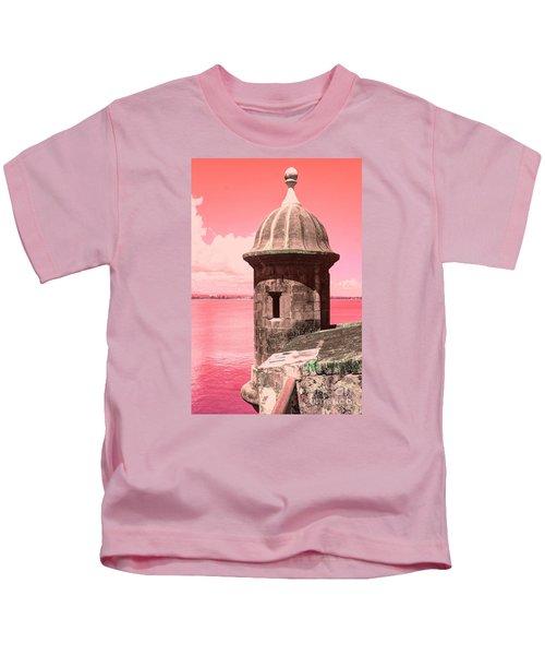 El Morro In The Pink Kids T-Shirt