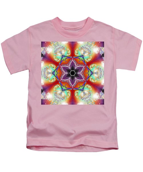 Electric Enlightenment Kids T-Shirt