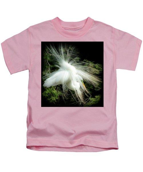 Elegance Of Creation Kids T-Shirt by Karen Wiles