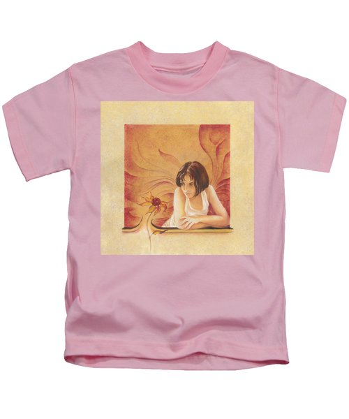 Everyday Angel With Flower Kids T-Shirt