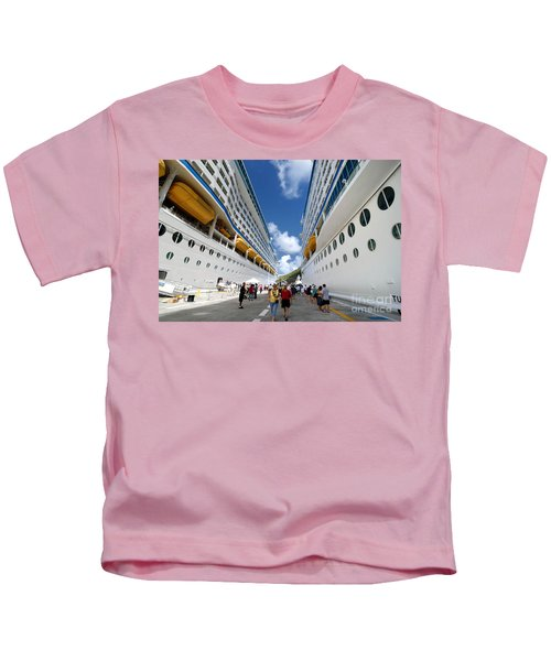 Explorer Of The Seas And Adventure Of The Seas Kids T-Shirt