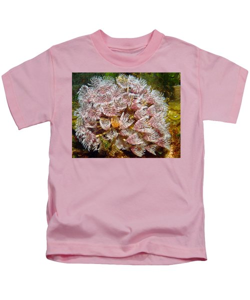 Featherduster With An Attitude  Kids T-Shirt