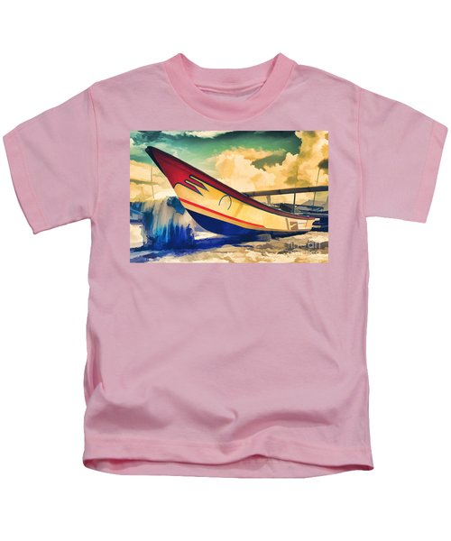 Fishing Boat Kids T-Shirt