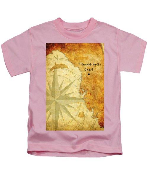 Florida's Gulf Coast Kids T-Shirt