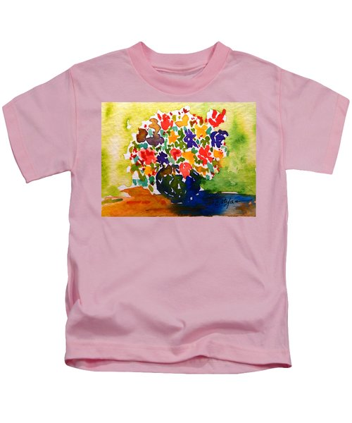 Flowers In A Vase Kids T-Shirt