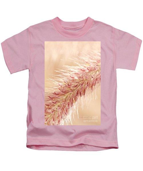 Fountain Grass Blooms   Kids T-Shirt