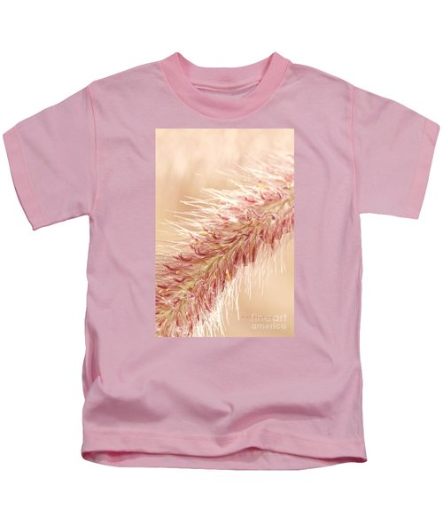 Fountain Grass Blooms   Kids T-Shirt