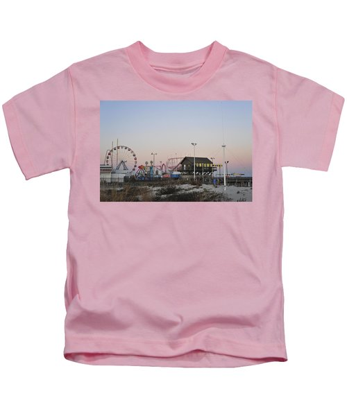 Fun At The Shore Seaside Park New Jersey Kids T-Shirt