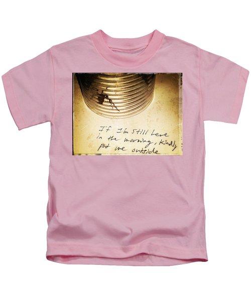 Good Advice - Spider Art By Sharon Cummings Kids T-Shirt