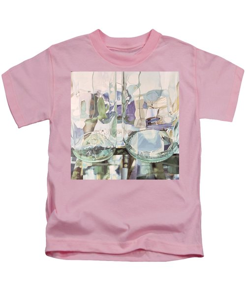 Green Transparency Transparence Verte 1981 Oil On Canvas Kids T-Shirt