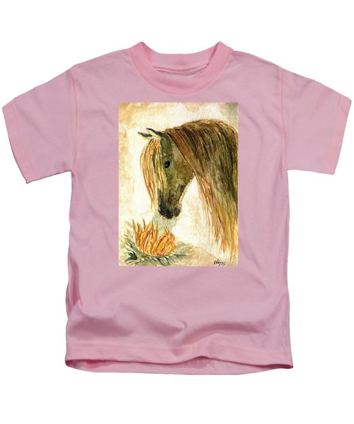 Greeting A Sunflower Kids T-Shirt