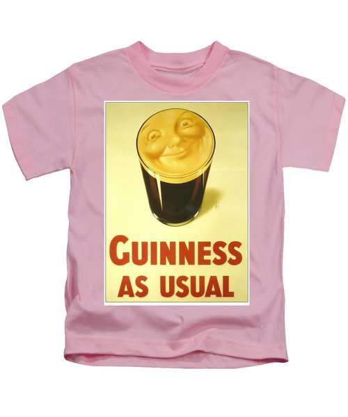 Guinness As Usual Kids T-Shirt