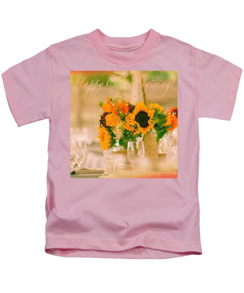 """Happy Thanksgiving!!! """"for Each New Kids T-Shirt"""