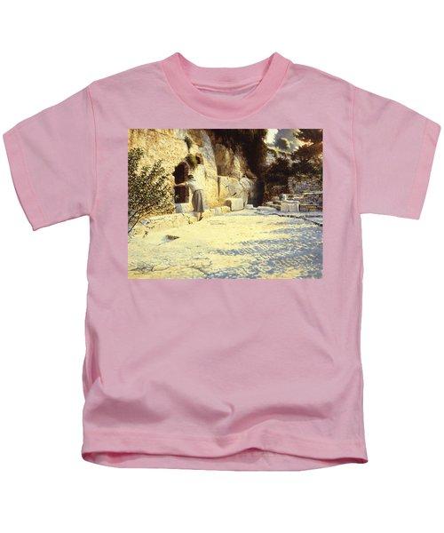 He Is Risen Kids T-Shirt