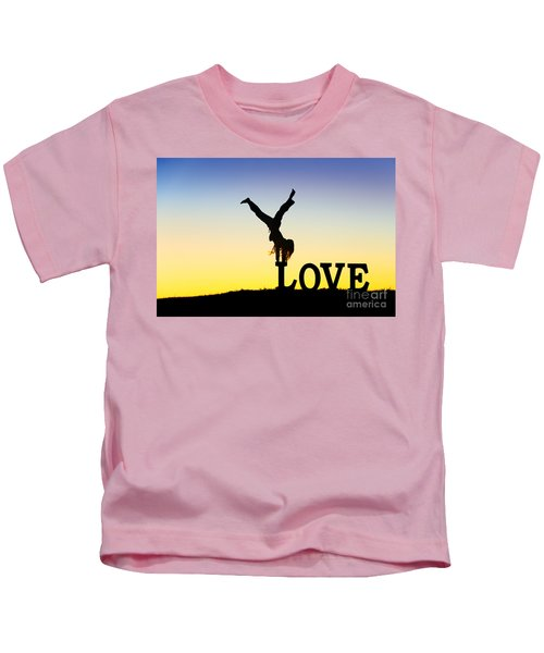 Head Over Heels In Love Kids T-Shirt