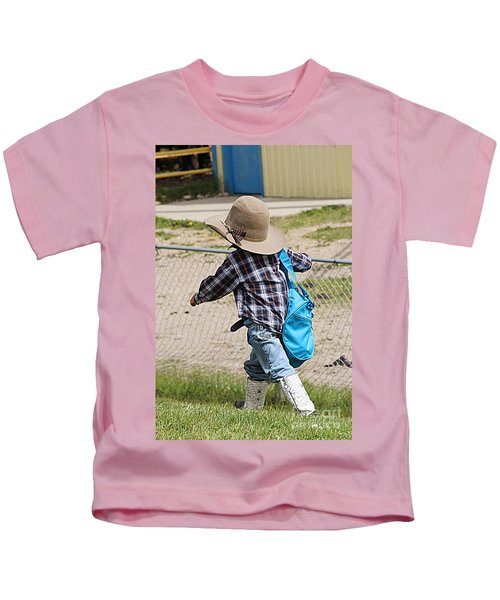 Heading For The Chute Kids T-Shirt