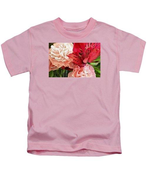 Heart's A Flutter Kids T-Shirt