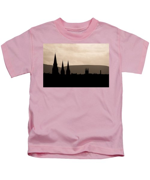 Hills And Spires Kids T-Shirt