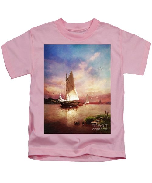 Home To The Harbor Kids T-Shirt