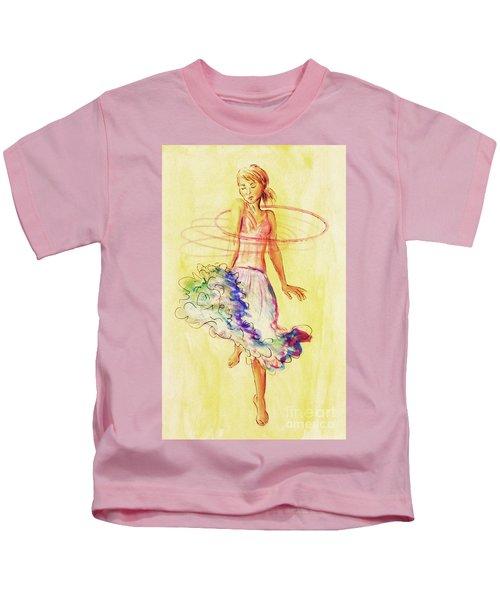 Hoop Dance Kids T-Shirt
